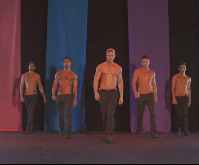 HAVE YOU HEARD? TODRICK HALL AND SHIRTLESS MUSCLE GUYS TAKE ON 'BITCH PERFECT' MUSIC PARODY