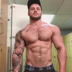 GO GO BOY TO DESIGNER MATTHEW CAMP SHOWS OFF HIS HUGE BUBBLE BUTT- CHECK OUT HIS MEAT TOO