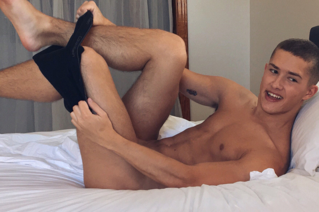 HELIX EXCLUSIVE SEAN FORD IS NOW COCKBOYS EXCLUSIVE SEAN FORD