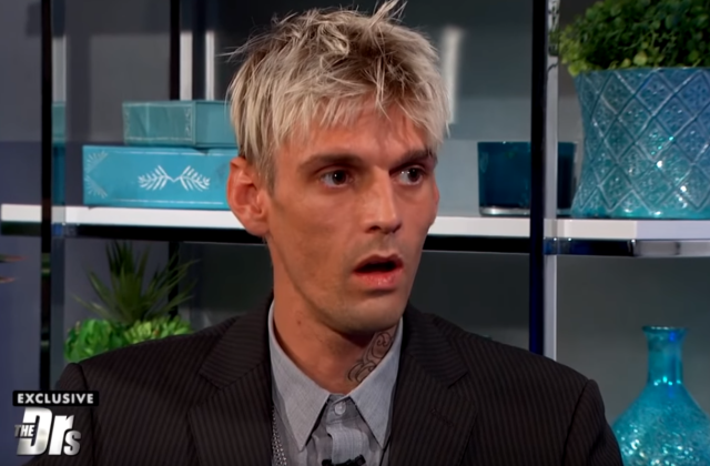 AARON CARTER GETS AN HIV TEST AND MEDICAL TEST RESULTS REVEALED ON A DAY TIME TALK SHOW [VIDEO]