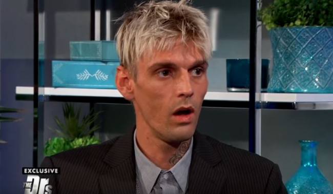 AARON CARTER TRANSFORMS WITH A THIRTY POUND WEIGHT GAIN POST-REHAB
