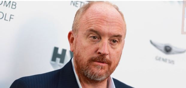 LOUIS C.K. ISN'T JUST A SEXUAL PREDATOR IS A SEXUAL PREDATOR THAT'S ALSO A DOUCHE