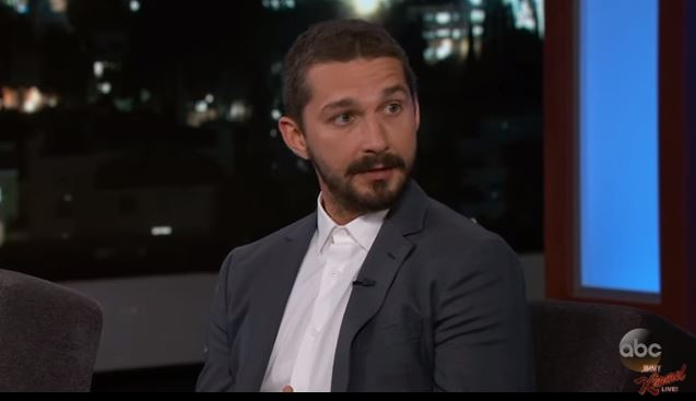 ACTOR SHIA LABEOUF ADMITS HE'S 'INSECURE' ABOUT THE SIZE OF HIS JUNK