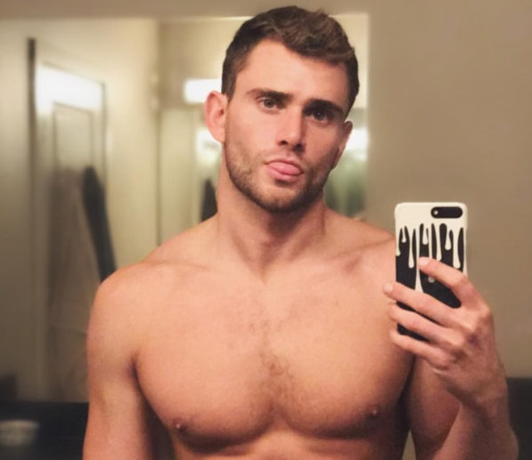 MALE MODEL: KEEGAN WHICKER'S  'LEAKED' NUDE PHOTO SHOULD BE TRENDING. SOMEONE HAS BEEN BUSY MANSCAPING