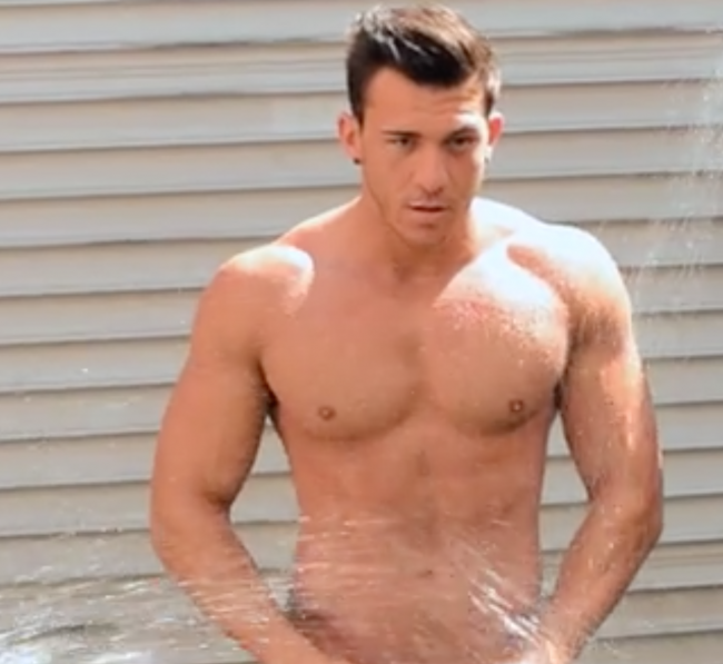 ANOTHER ANDREW CHRISTIAN VIDEO TO WATCH THIS TIME FOR A 'WET 2015' CALENDAR