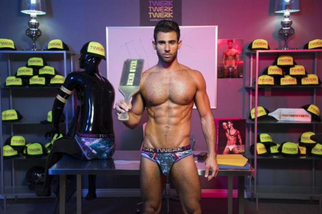 ANDREW CHRISTIAN MODELS TAKE YOU TO SCHOOL IN 'TWERK 101'-WATCH