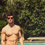 HUNKY SINGER STEVE GRAND SLIPS INTO A SPEEDO TO CELEBRATE A BAR OPENING- IT'S A PAYCHECK