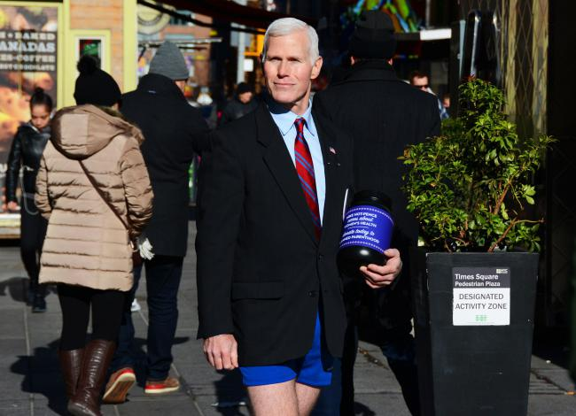 Mike hot-pence