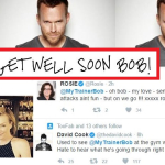'BIGGEST LOSER' HOST BOB HARPER SUFFERED A HEART ATTACK AT GYM-STABLE NOW & TWEETING 'THANK YOU' FROM BED SIDE