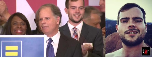 9 THINGS YOU NEED TO KNOW ABOUT ALABAMA'S SENATOR-ELECT DOUG JONES' GAY SON CARSON JONES
