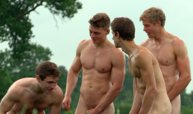 THE NEW VIDEO FOR WARWICKS ROWERS 2015 CALENDAR SHOWS FULL FRONTAL AND BRILLIANT ASS PARADISE