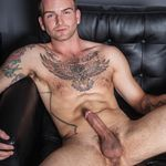 RANDY BLUE SHOWS OFF HARD EDGED, TATTOOED UP, LOVES TO FUCK DUDES BRETT BECKHAM SOLO BEFORE GOING RAW