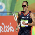 AN OLYMPIC RACE WALKER SHITS HIMSELF AND STILL PLACED 8TH-NO EXCUSES