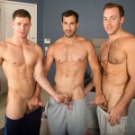 SEAN CODY'S BEACH FOOTBALL GAME TURNS INTO A SWEATY, MUSCLED UP DIRTY THREESOME