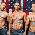 Underwear Model's 'Hunks for Hillary' Campaign Is the Cure for Electile Dysfunction- A MOVEMENT TO BRING YOU TO YOUR KNEES