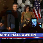 WATCH- WHEN THE PRESIDENT AND THE FIRST LADY DO THE 'THRILLER' DANCE AT A HALLOWEEN PARTY YOU STOP AND ENJOY