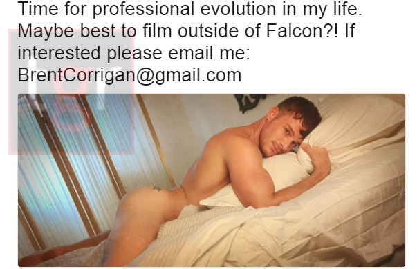 [EXCLUSIVE] GAY PORN ICON BRENT CORRIGAN LATEST TWEET HAS SPARKED SPECULATION ON HIS FUTURE PLANS
