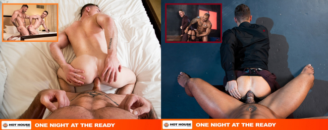 HOT HOUSE RELEASES SCENES FROM THEIR HIT MOVIE 'ONE NIGHT AT THE READY' DIRECTED BY CHI CHI LARUE- ARE YOU READY?