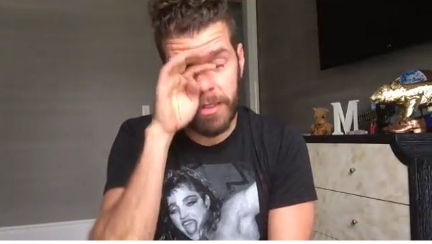 PEREZ HILTON HAS SEEN A DIFFERENT SIDE OF HOLLYWOOD AND HIS VIDEO SHOWS HIS EMOTIONAL ROLLER-COASTER RIDE