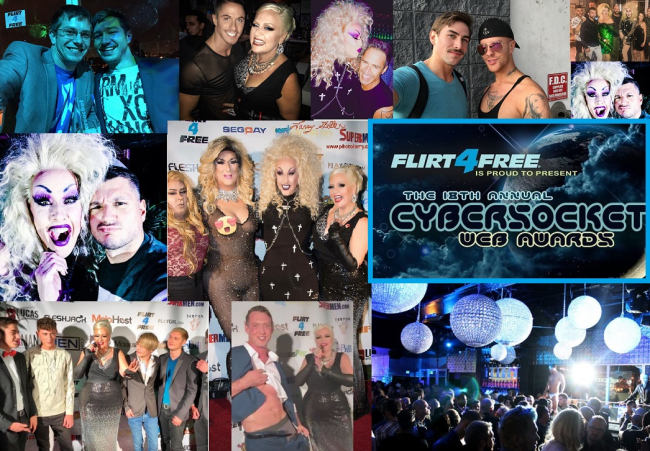 3 OUT OF 4 GAY ADULT PERFORMERS GOT LAID EITHER BEFORE, WHILE, OR AFTER THE WINNERS WERE ANNOUNCED AT THE 18TH CYBERSOCKET WEB AWARDS [WINNERS LIST]