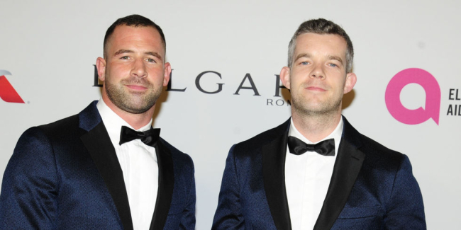 RUSSELL TOVEY AND HIS PARTNER STEVE BROCKMAN ARE ENGAGED!