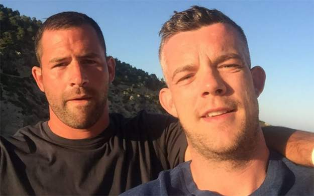 YES, RUSSELL TOVEY'S FIANCEE STEVE BROCKMAN HAS A GAY PORN PAST, NOW LEAVE HIM ALONE