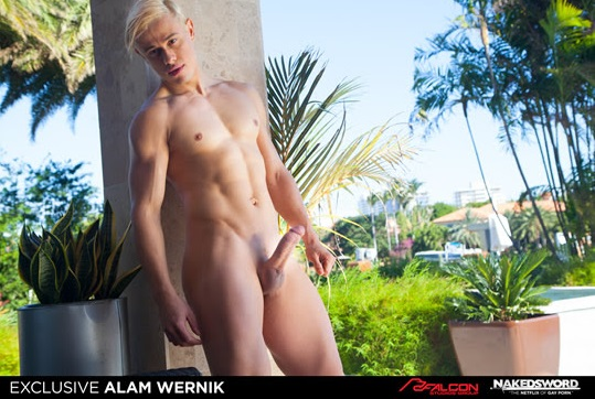 FALCON STUDIOS GROUP SIGN THEIR NEXT BREAKOUT STAR: ALAM WERNIK