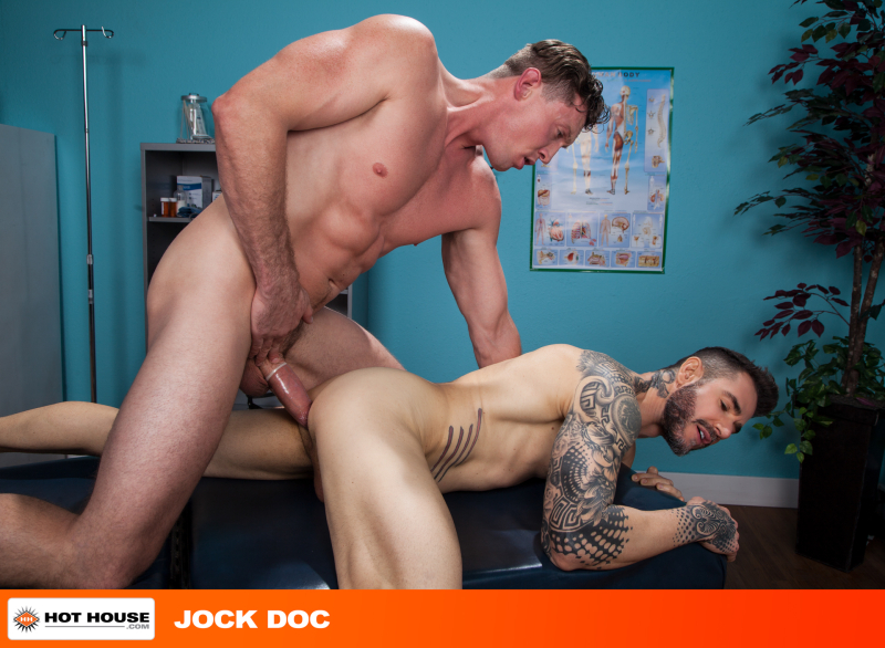 HOT HOUSE PIERRE AND DEAN- THE GAY REPUBLIC 7