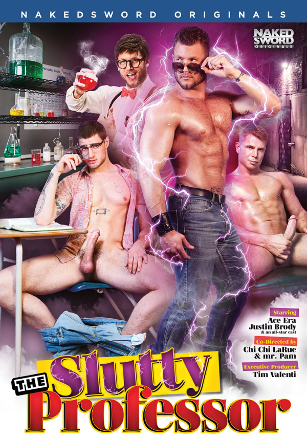 THE SLUTTY PROFESSOR- NAKED SWORD- THE GAY REPUBLIC