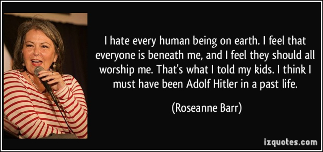 RACIST AND DELUSIONAL ROSEANNE IS READY TO FORGIVE THOSE WHO HURT HER BY CALLING OUT HER RACIST TWEETS