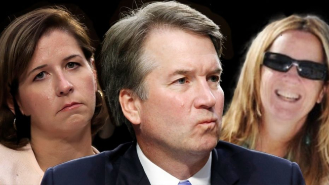 Second Woman Claims Brett Kavanaugh Flashed His Cock While At A College Party