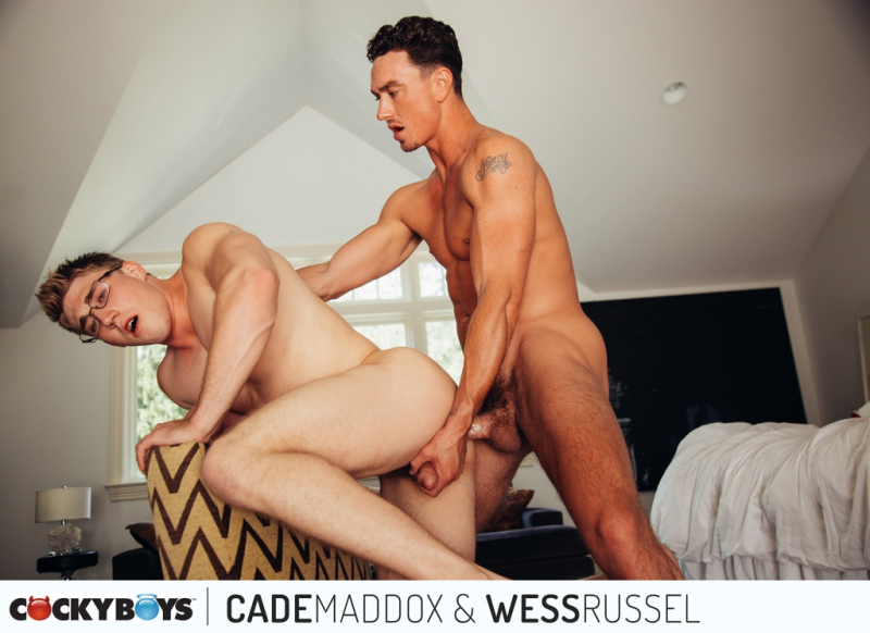 Cade maddox and wess russell cockyboys the gayrepublic 2