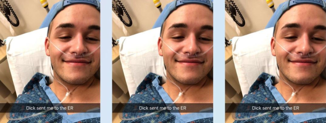 TEENAGER WHO WAS SENT TO THE ER FOR SUCKING A 10-INCH COCK SPEAKS OUT