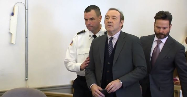 Disgraced Actor Kevin Spacey Appears in Court