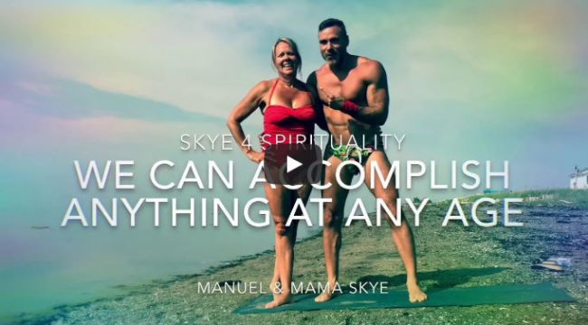 WATCH: MANUEL SKYE GETS SPIRITUAL WITH HIS GORGEOUS MOM