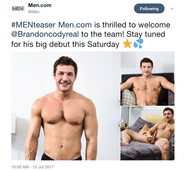 Brandon cody the gay republic
