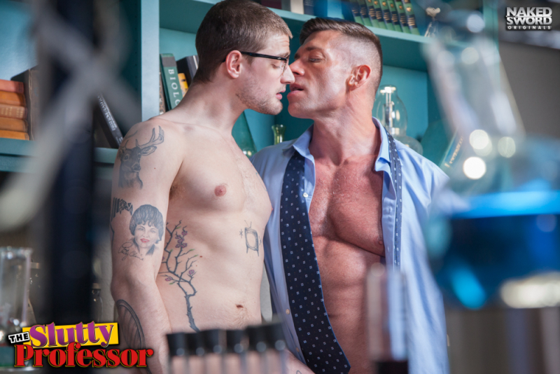 The slutty professor-naked sword-justin brody-bruce beckham- the gay republic 2