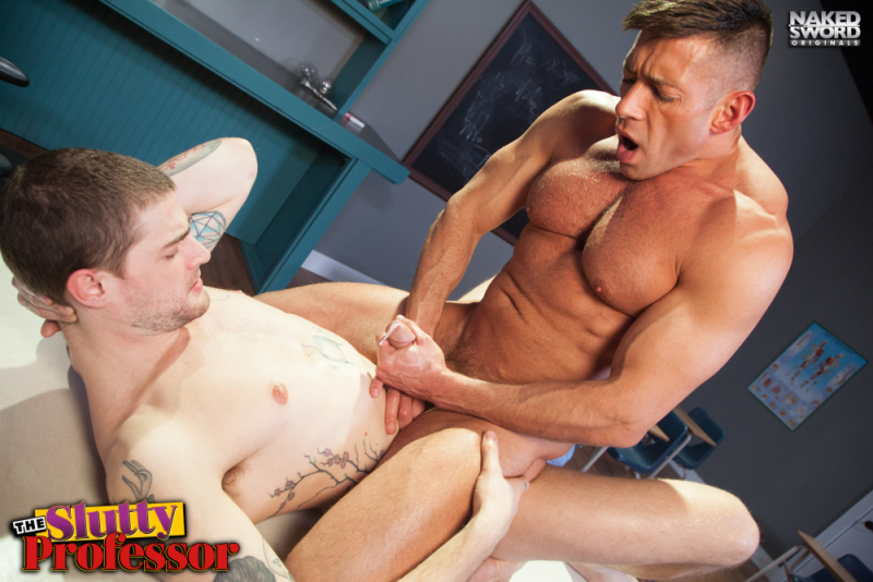 The slutty professor-naked sword-justin brody-bruce beckham- the gay republic 8