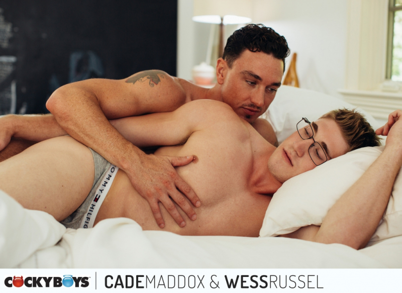 Cade maddox and wess russell cockyboys the gayrepublic