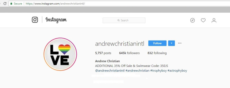 Andrew christian the gay republic