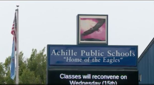 Achille school closure