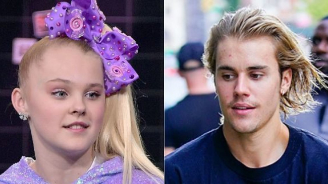 Justin Bieber Starts Twitter Fight With 15-Year-Old JoJo Siwa