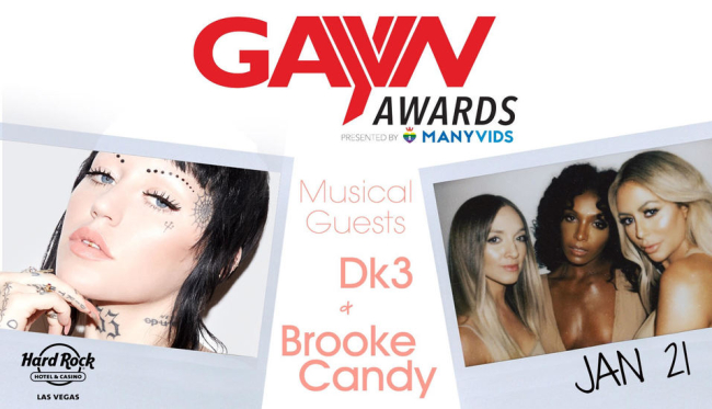 Danity Kane (DK3), Brooke Candy to Perform at the 2019 GayVN Awards