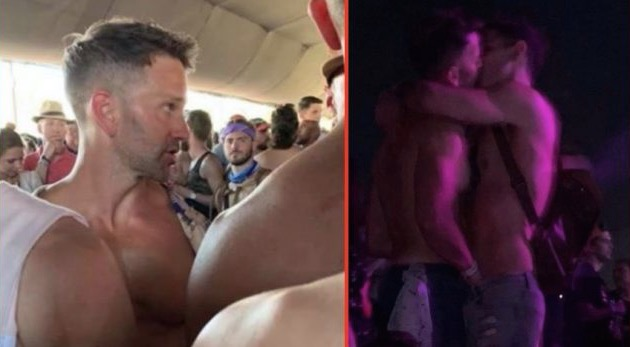 Fmr. GOP Congressman Aaron Schock Spotted At Coachella 'Making Out' With Unidentified Guy