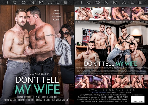 Chi chi larue returns to iconmale  DEBUTING NEW FEATURE 'DON'T TELL MY WIFE'